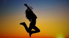 Balletttnzer (donotloading) Tags: she travel summer woman sun contrast happy dance friend y young teen contraste amateur