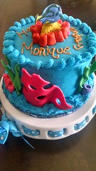 Finding Nemo Dory Cake (1) (Nola Party Boutique) Tags: cake finding nemo dora nolapartyboutique