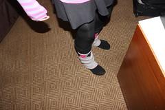 Midwest Furfest- Friday 5 December 2014 (SperaLyoness) Tags: pink chicago illinois midwest skirt crossdressing ohare rosemont tyler fox hyatt legwarmers regency leggings mff mwff femboy furfest relyt mwff2014