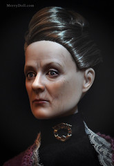 Maggie-Smith19 (MerryDoll Art) Tags: ooak harrypotter repaint professormcgonagall tonnerdoll maggiesmith downtonabbey dowagercountessofgrantham