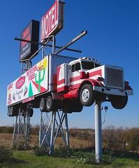 truckstop sign