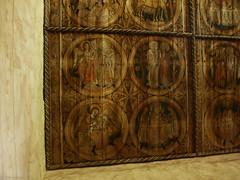 Ceiling paintings (DameBoudicca) Tags: church sweden schweden iglesia kirche medieval ceiling chiesa decke sverige romanesque glise middleages tak suecia techo kyrka medioevo plafond romnica moyenge sude  svezia mittelalter soffitto romane romanik  romanica edadmedia  medeltiden innertak romansk ddesj