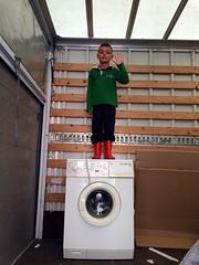 Hoera, een nieuwe wasmachine!