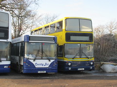 00-D-70109, Country Bus Depot, Heathfield, Nr. Newton Abbot, 20/12/14 (aecregent) Tags: heathfield countrybus 301214