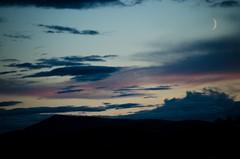 Ben Rinnes (hammoj28) Tags: uk blue light sunset sky moon mountain black night clouds dark landscape grey nikon purple ben cloudy dusk united side low country deep scottish sigma kingdom eerie highland fairy land mystical british scape tale isles corbett dufftown rinnes banffshire scotlandnorth d5100