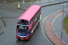 346 (Callum's Buses & Stuff) Tags: pink bus buses volvo edinburgh gemini lothian madder lothianbuses gemini2 edinburghbus b9tl madderandwhite madderwhite