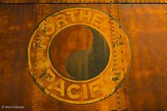 Northwest Railway Museum (Stones 55) Tags: railroad history sign train logo washington nikon rust rail trains pacificnorthwest boxcar np trademark snoqualmie railroads kingcounty northernpacific nikond3200 northernpacificrailway northwestrailwaymuseum taijitu d3200 trainshedexhibitbuilding