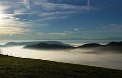 auf dem Passwang (Rosmarie Voegtli) Tags: hiking jura wandern nebelmeer mist sky himmel passwang herbst fall schweiz switzerland explored autumn inexplore