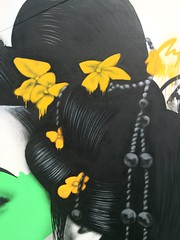 Hanabi (Fin DAC) Tags: streetart urbanart maiko geisha asianpop urbanaesthetics findac urbanfemales