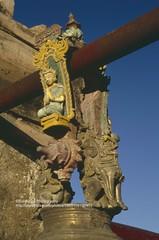Bagan, bell detail (blauepics) Tags: detail asia sdostasien bell burma religion buddhism myanmar 1992 southeast birma pagan bagan glocke buddhismus