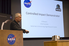 Controlled Impact Demonstrator, Al Bowers, Chief Scientist