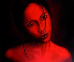 http://vandaelechristoph.weebly.com/ (vandaelechristoph) Tags: red orange black color colour art modern painting paint artist gallery arty contemporary fine painter