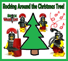 Holiday Gift Guide From A-Z: R is for Rocking Around the Christmas Tree (MandaBW) Tags: christmas holiday lego roman gift presents guide gladiator minifigure legionnaire