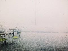 The day the world rained down (ale2000) Tags: storm verde green glass rain florence drops firenze tempest g3 pour sedie pioggia pouring vetro tempesta gocce chiars vsco largoannigoni vscocam stockimo mobilemart