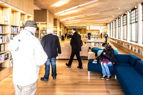 New Public Library In Dun Laoghaire, Officially Called DLR Lexicon Opened To The Public Today And It Is Worth Visiting Ref-100532