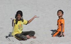 Beach bums (Nagarjun) Tags: family bhutan malu tatu nag kanishka kinu malathi nagarjun takshila