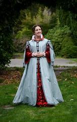 Venetian Zimarra (MorganDonner) Tags: costume italian dress sca silk venetian gown renaissance garb