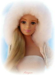 Dreams in the snow (Linayum) Tags: white doll barbie muñeca linayum barbiepinkjapanversion