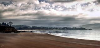 Un paseo por la playa...