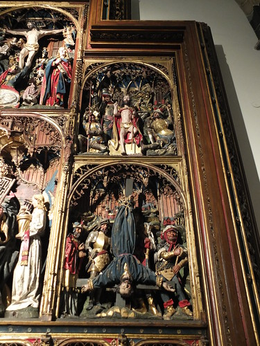 Iglesia de Santa María - Lateral derecho del retablo de la capilla de San Pedro