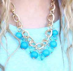 Glimpse of Malibu Blue Necklace K1 P2710-2