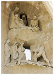Sagrada Familia 68 (ferran pestaña) Tags: sagradafamilia gaud josepmariasubirachs ibarcelona fachadadelapasión