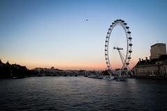 London Eye (Matthias Dingjan) Tags: greatbritain sunset london outdoor londoneye ferris