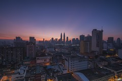 sunrise @ GM Plaza (adamraufz.inc) Tags: sunrise cityscape slowshutter kualalumpur klcc rayoflight a99 sonyalpha nonehdr fotoxpresi adamraufz serkfilter serkholder