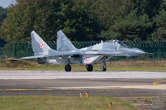 MiG-29 Polish Air Force (Spotterforlife) Tags: peer flanders belgien 2014 kleinebrogel ebbl belgianairforcedays