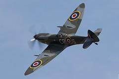 Spitfire Mk.XVIe TD248 CR-S at Flying Legends 2014, Duxford UK (Jeroen.B) Tags: show uk blur flying air legends duxford spitfire mk prop warbird airfield crs 2014 xvi mkxvi xvie egsu td248 mkxvie flyinglegends2014