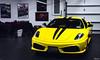 Scuderia (Hilgram Photography) Tags: cars yellow italian track garage stripe fast ferrari giallo luxury scuderia supercar wealth 430