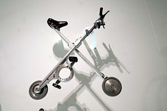 Clive Sinclairs X bike (H Burton) Tags: bike foldingbike xbike clivesinclair