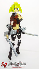 Attack on Titan custom character 22 (shirokeima) Tags: diy lego attack titan on moc mikasa shingeki