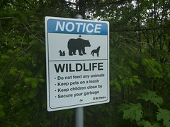 Don't feed the wildlife (Alex-Boy) Tags: canada dam columbia british hydroelectric bchydro hydroelectricity