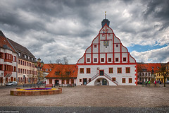 Rathaus Grimma (Christian Hoemke) Tags: germany de deutschland cityhall saxony sachsen rathaus grimma canoneos70d hdrefexpro2 lightroom5 tamrondiii16300mm13563