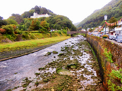 Lynmouth, North Devon (photphobia) Tags: uk summer holiday building architecture buildings cloudy outdoor overcast devon lynmouth northdevon lynton oldwivestale lyntonandlynmouth
