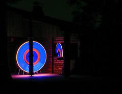 Lapp _0956 (andreasmertens) Tags: lightpainting deutschland nacht disc spiegelung lichtmalerei lightart scheibe lapp ihle kreisolpe repetal andreasmertens