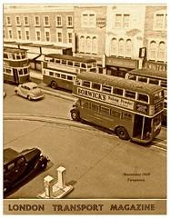 London Transport Magazine (kingsway john) Tags: november london scale austin magazine tram devon cover stl e1 1949 lt 176 tranasport