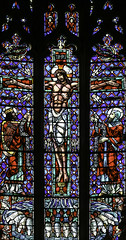 Christ Gave Himself For Me (Lawrence OP) Tags: life sanfrancisco david window christ cross glory stainedglass grace lambs streams isaiah biblical crucifixion stdominics jesuschrist livingwater holyspirit preciousblood