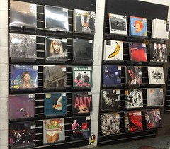 Vinyl at Rough Trade East, London. (boloveselvis) Tags: jeff vintage frank stones albums exile lps jeffbuckley amywinehouse tamaimpala