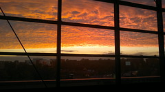 Burning for you (Lascorian) Tags: sunset red sun berlin explored inexplore