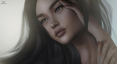 Dico~Pure.... (Skip Staheli (Clientlist closed)) Tags: portrait closeup asian hands avatar sl digitalpainting secondlife dreamy virtualworld skipstaheli diconayboa