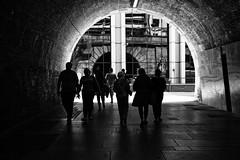 _DSF1329-Edit (richwself) Tags: uk england london silhouette blackwhite spring unitedkingdom streetphotography southbank southwark southwarkbridgeunderpass fujinonxf1855mmf284rlmois fujifilmxpro2