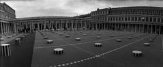Paris (Etienne Despois) Tags: blackandwhite bw paris horizon kompakt colonnesdeburen blackwhitephotos
