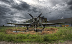 Fairey Gannet (D-W-J-S) Tags: gannet fairey aeroplane airplane aircraft drelect raferrol airfield wings hdr propellor