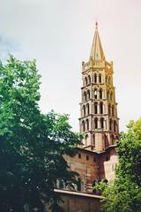 Basilique Saint-Sernin (Louis & Tom Lefvre) Tags: architecture toulouse nuages saintsernin pyrnes basilique clocher nuageux midipyrnes