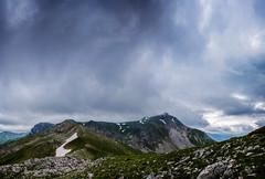 Bik Dorog (Gadjowsky) Tags: summer sky panorama mountain storm mountains nature weather clouds landscape nikon hiking pano peak panoramic explore macedonia photomerge landschaft cloudporn skyporn nikond5100