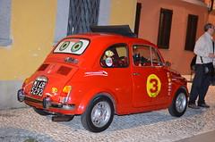 FIAT  NUOVA 500  YEAR 1965 (Bruno Vigan) Tags: fiat 500 italia italy car olivetti automobili autostoriche nightshot city cityshot street streetpic streetimage nikon5100 35mm nikon classicscar roadpic fiatnuova500 fiat500