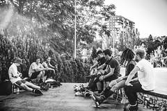 Tarde de SkatePark (Javier Balanzat Duque) Tags: madrid life city urban blackandwhite skatepark lif bsfilms bsfilm