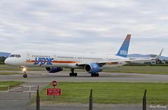 Arkia 757-300 4X-BAW (birrlad) Tags: dublin dub international airport ireland aircraft aviation airplane airplanes airline airliner airlines airways taxi taxiway landing landed runway arrival arriving boeing b757 b753 757 757300 7573e7 arkia 4xbaw iz921 telaviv israel